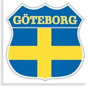 Aufkleber Göteborg - cut